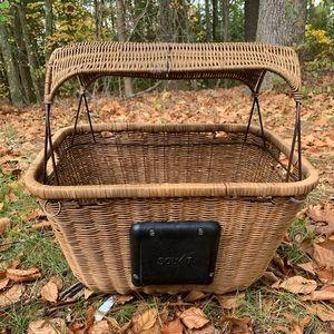 Petsafe Solvit Tagalong Bicycle Basket Dog Carrier